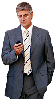 Businessman with Smartphone
